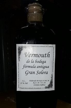 Vermouth de la Bodega fórmula antigua. Gran Solera
