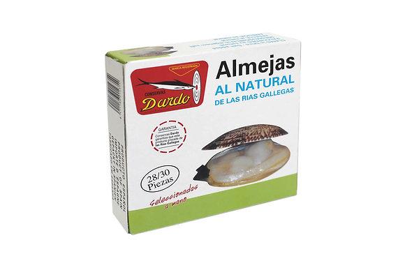 DARDO ALMEJAS AL NATURAL 28-30 piezas