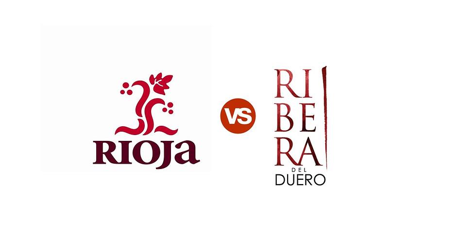 D. O. Rioja versus D.O. Ribera del Duero