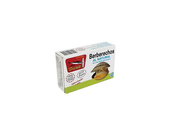DARDO BERBERECHOS AL NATURAL 35-45 piezas