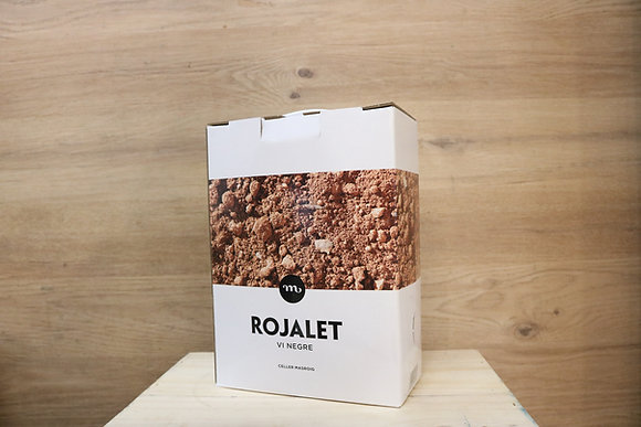 ROJALET MASROIG  BOX 3 L   COLLITA Blanco