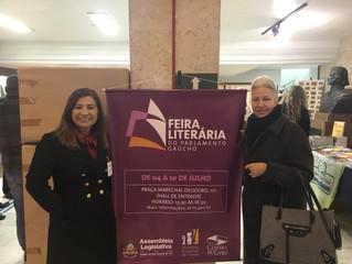Editora e Livraria da FERGS participa da 1ª edição da Feira Literária do Parlamento Gaúcho
