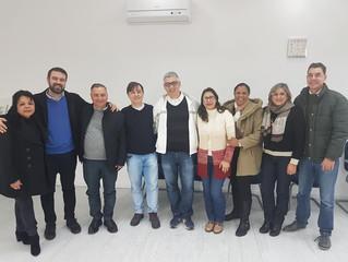 Lideranças espíritas da França e Uruguai visitam a sede da FERGS