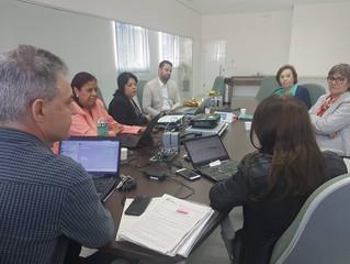 Grupo gestão da FERGS se reúne com lideranças da Sociedade Espírita Allan Kardec (POA).