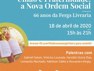 Fergs Livraria comemora 66 anos com evento online