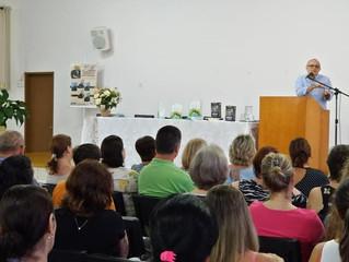 """Lançamento do livro """"Conversando sobre a Morte"""", de Álvaro Chrispino, em Santa Maria/RS."""