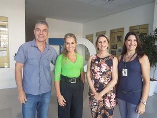 FERGS realiza primeira reunião de trabalho, com visitação e criação do programa de necessidades espe
