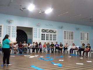 Diretora do AIJ-FERGS desenvolve painéis e oficinas na Jornada pela Evangelização Espírita Infantoju