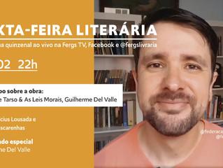 Sexta-feira Literária promove reflexões sobre Paulo de Tarso e as Leis Morais