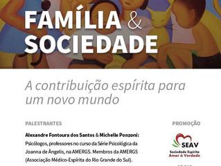"""30 de setembro ocorrerá minisseminário """"Família & Sociedade"""", em São Leopoldo."""