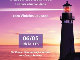 160 anos de O Livro dos Espíritos, Vinícius Lousada.
