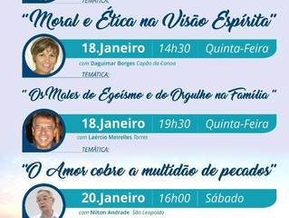 Palestras públicas no litoral gaúcho