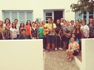 Área da Evangelização Infanto-Juvenil FERGS realiza diversas oficinas pelo Estado.