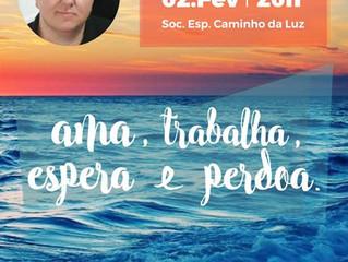 02 de fevereiro - Participe da palestra com  Vinícius Lousada, em Torres/RS.