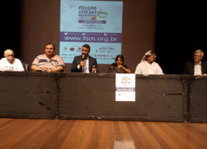 FERGS participa de Fórum Social Mundial Temático em Porto Alegre