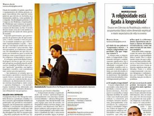 """Jornal """"O Globo"""" publica notícias sobre o MEDNESP, o maior evento de medicina e espiritual"""