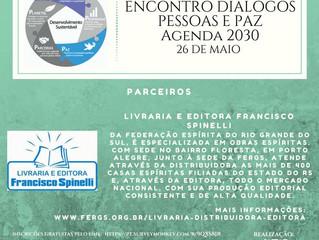 Livraria e Editora Francisco Spinelli participa do Encontro Diálogos Pessoas e Paz Agenda 2030.