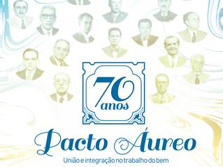 FERGS recebe Comissão Regional Sul nos 70 anos do Pacto Áureo