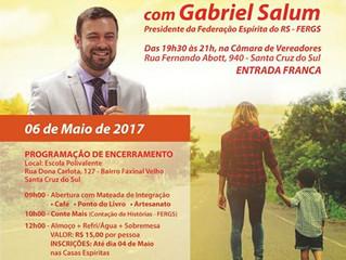 """Seminário """"A Caminho da Luz"""", com Gabriel Salum"""