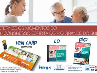 Eternize os momentos do 9º Congresso Espírita do RS