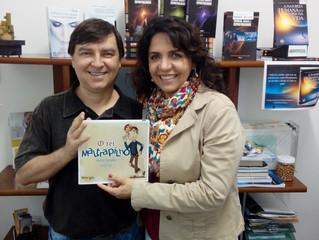 Lançamento do livro 'O Rei Maltrapilho' na 62º Feira do Livro de Porto Alegre.