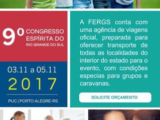Liga Eventos - Agência de Viagens do 9º Congresso Espírita do RS