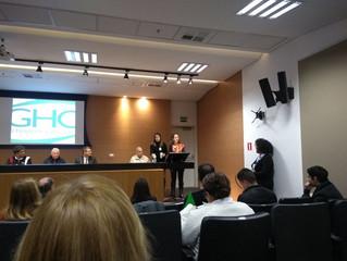 FERGS participa do Simpósio Ciência e Espiritualidade promovido pelo GHC
