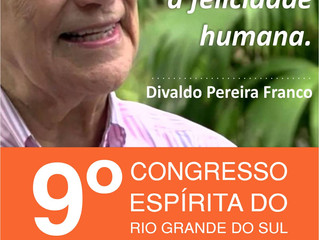 Divaldo Franco é presença confirmada no 9º Congresso Espírita do Rio Grande do Sul