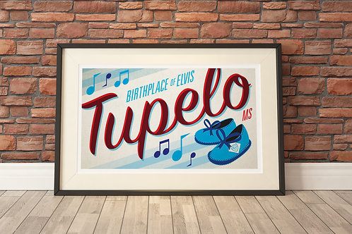 "22""x17"" Limited Edition Print - Tupelo"