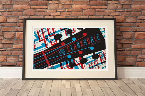 """22""""x17"""" Limited Edition Print - Clarksdale"""