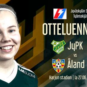 Nälkäinen JyPK haastaa Åland Unitedin