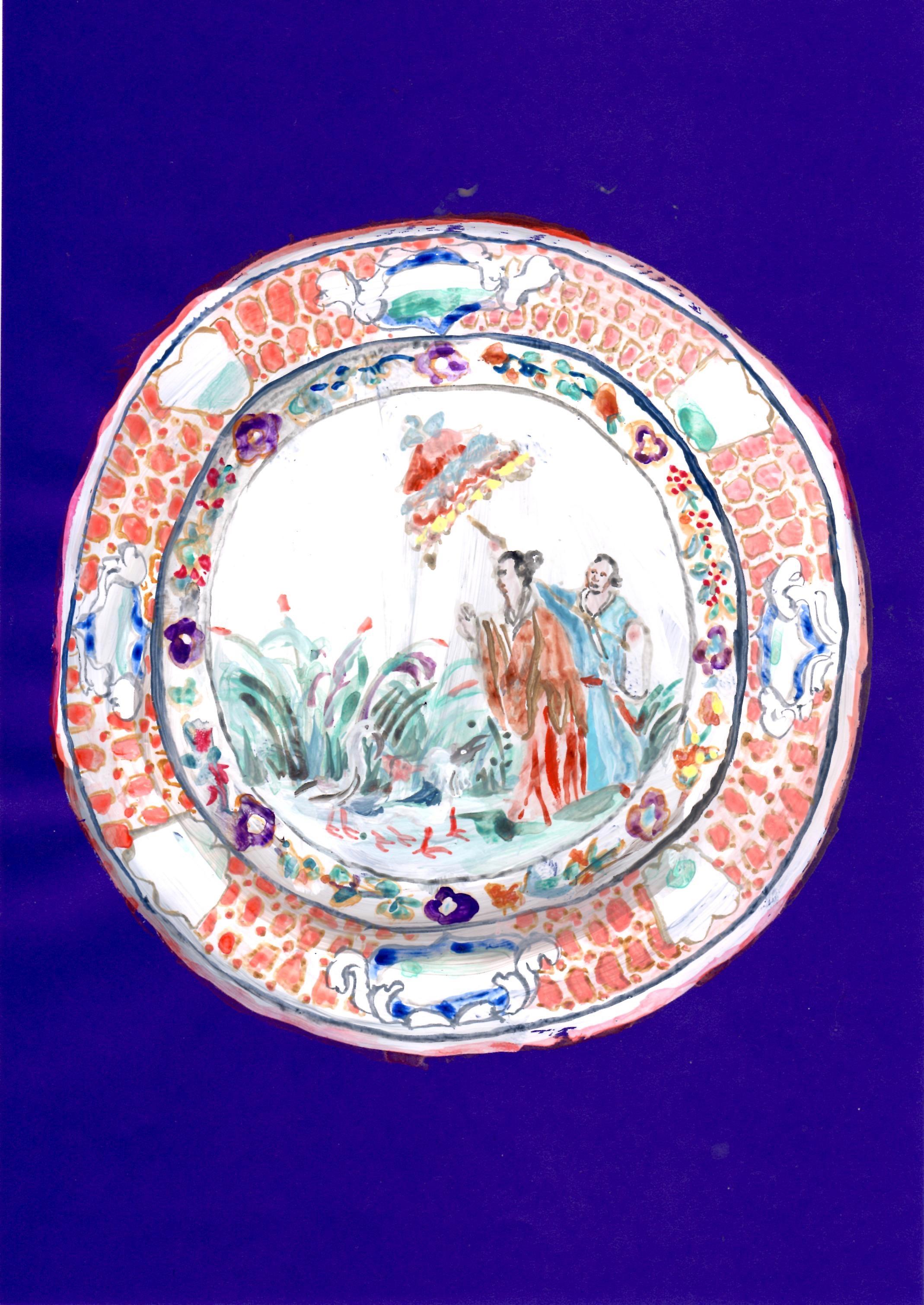 中国のお皿