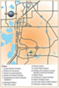 International Drive Orlando Map