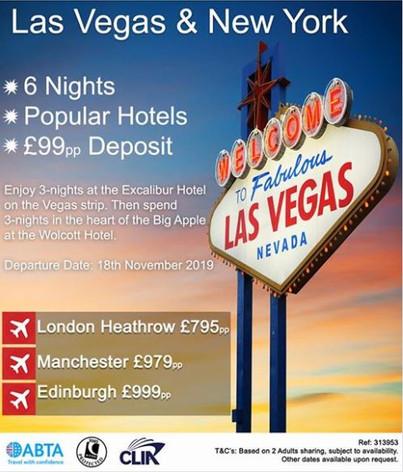NYC & Las Vegas Holiday
