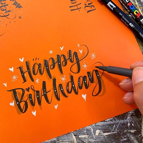 Beautiful Brush Lettering for Beginners