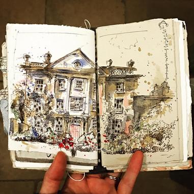 Highgrove Sketchbook Page