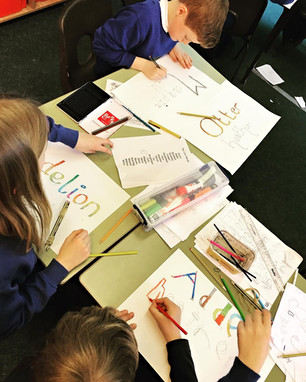 Nature Journaling at Kingswood School for World Book Day