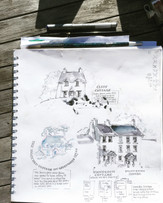 House Drawing on Holiday