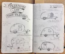 Teardrop Trailers Daily Journal Sketch