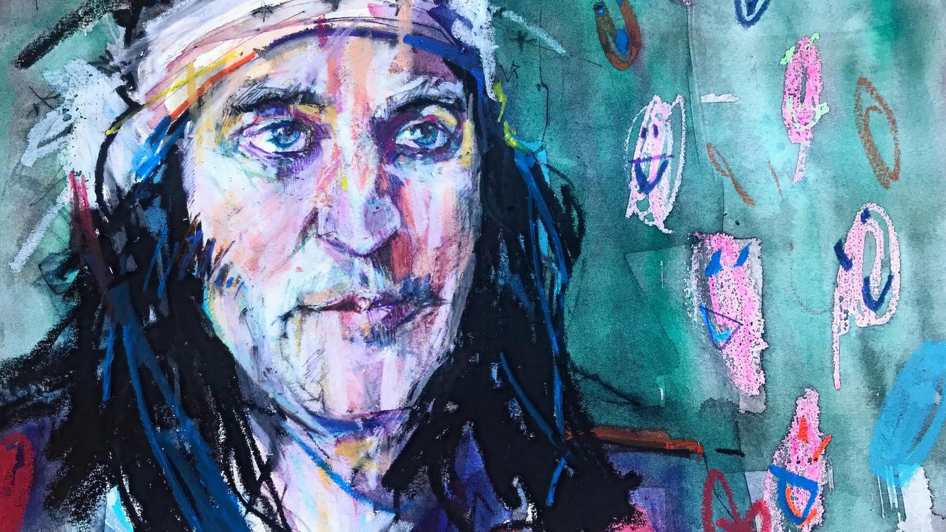 Portrait of Noel Fielding