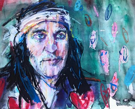 Sky Arts Portrait Artist of the Week: Portrait of Noel Fielding
