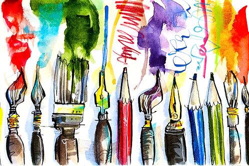 Sketchbook Club Week 3: A Beginner's Guide to Colour