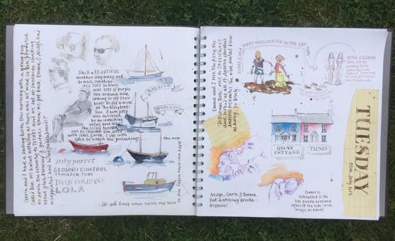 Devon Travel Journal