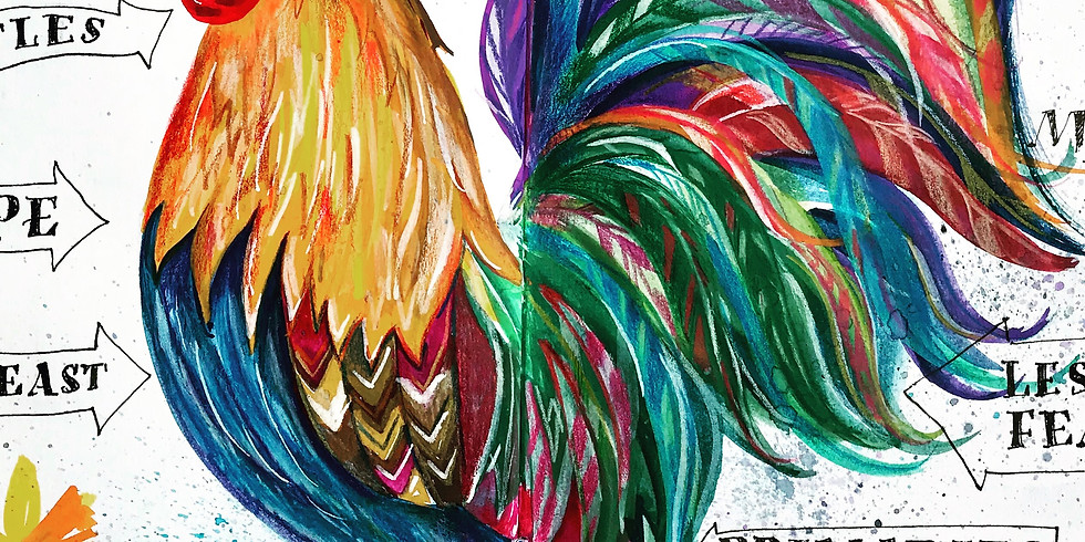 Colourful Spring Chickens!