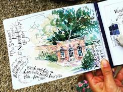 Summer Garden Sketchbook