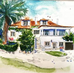 Portuguese house portrait