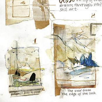 Sketchbook Landscape experiments