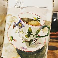 Tea at Highgrove Journal Page