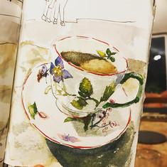 A Cup of Tea at Highgrove