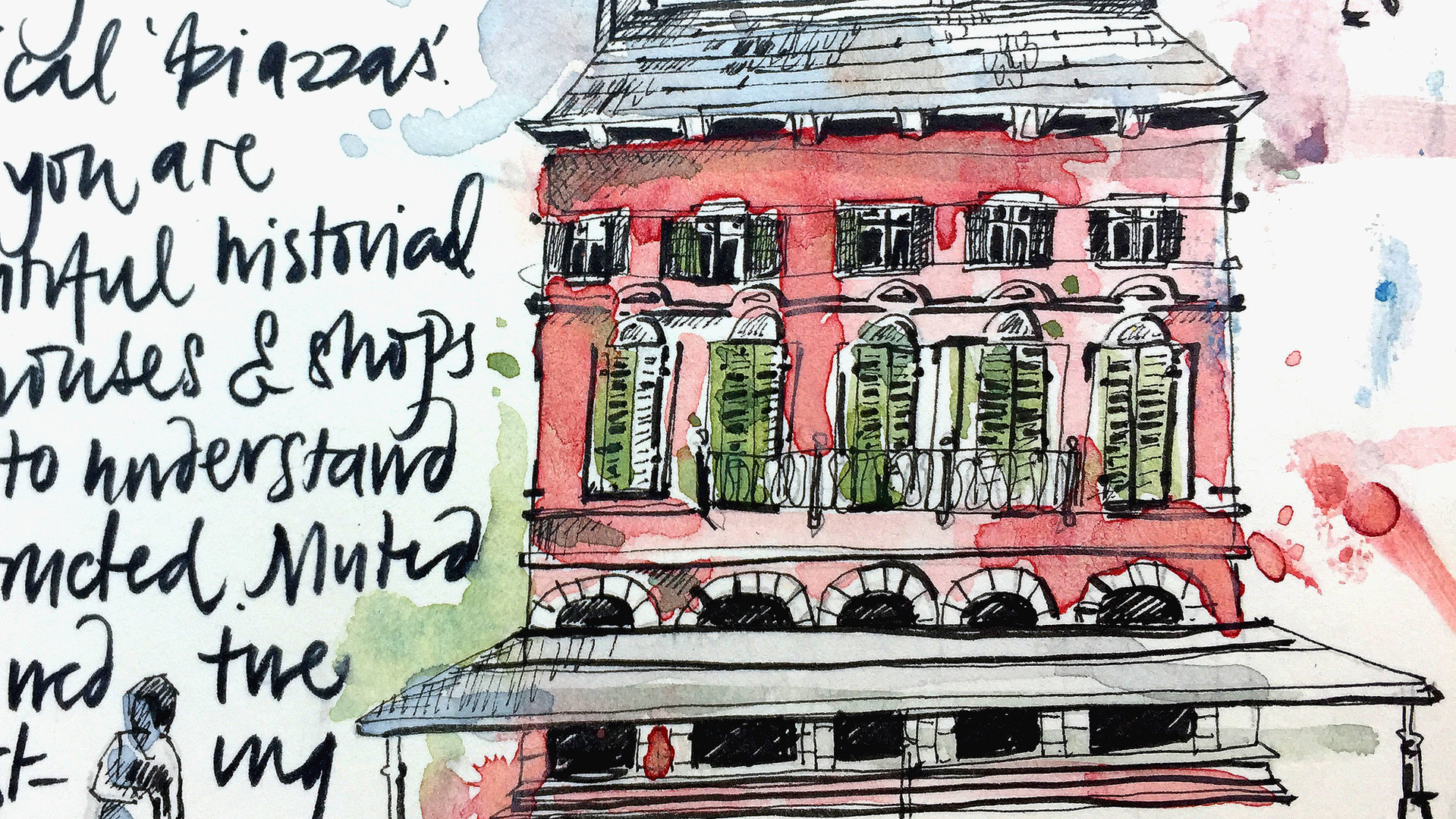 Verona Travel Sketchbook